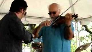 Beausoleil avec Michael Doucet - Dueling Fiddles - Baton Rouge Earth Day 4/17/11