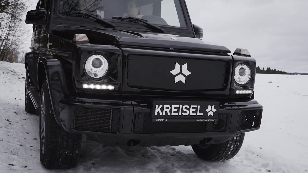 Kreisel's fully electric Mercedes G-Class is the Terminator's off