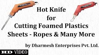 Professional-Grade Hot Cutting Tool / Hot Knife Plasto HK 900 Heat Cutter & Rope Cutter