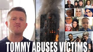 Tommy Robinson Attacks Grenfell Victims - Disgusting!! - Rebel media