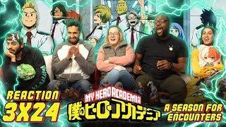 My Hero Academia - 3x24 A Season for Encounters - Group Reaction