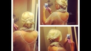 Easy Twisted Updo ☺ Hairstyle ☺ Thumbnail