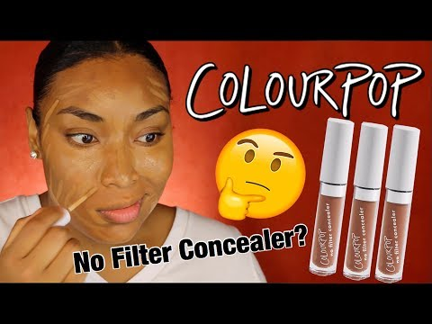 NEW COLOURPOP NO FILTER CONCEALER??