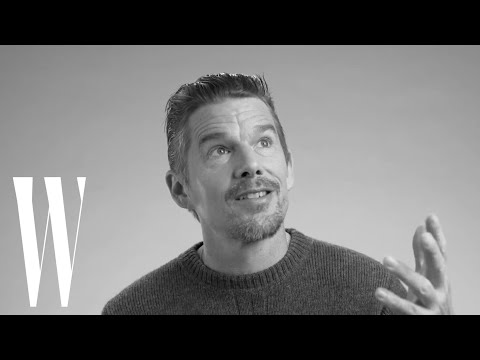 Ethan Hawke Couldn't Stop Crying When He Shot with River Phoenix  Screen Tests  W Magazine