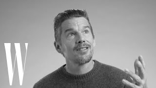 Ethan Hawke on River Phoenix, Dead Poets Society, and What Makes Him Cry | Screen Tests | W Magazine