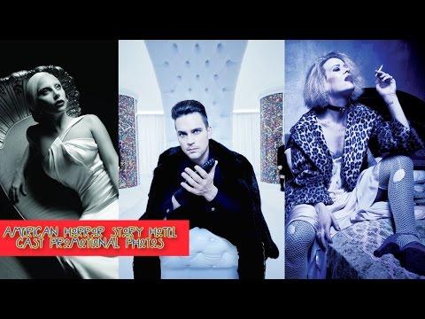 American Horror Story Hotel - Season 5 Cast Promotional Photos HD