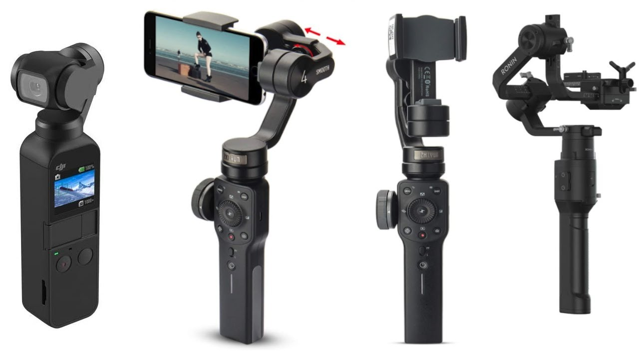 5 Best Gimbals for your iPhone, GoPro, Mirrorless Camera or DSLR in 2020 | Gimbal for Photography