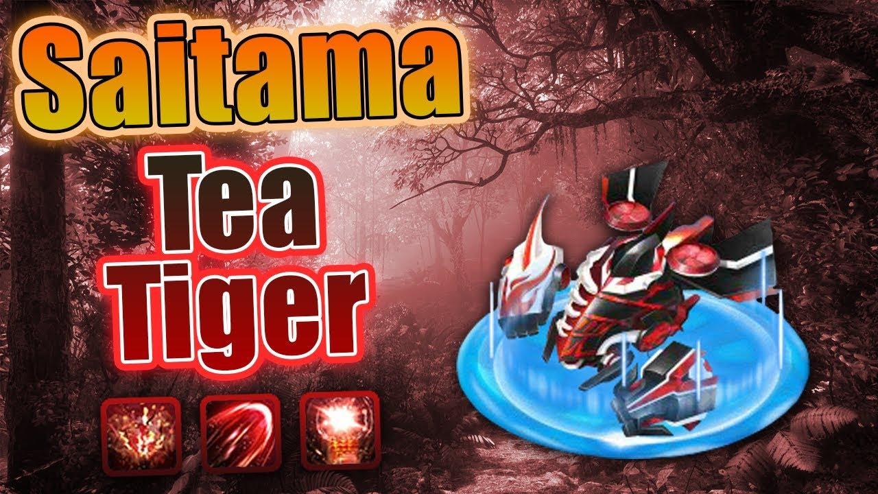 Bang Bang trên zing me – Saitama Skin Tea Tiger Lv6