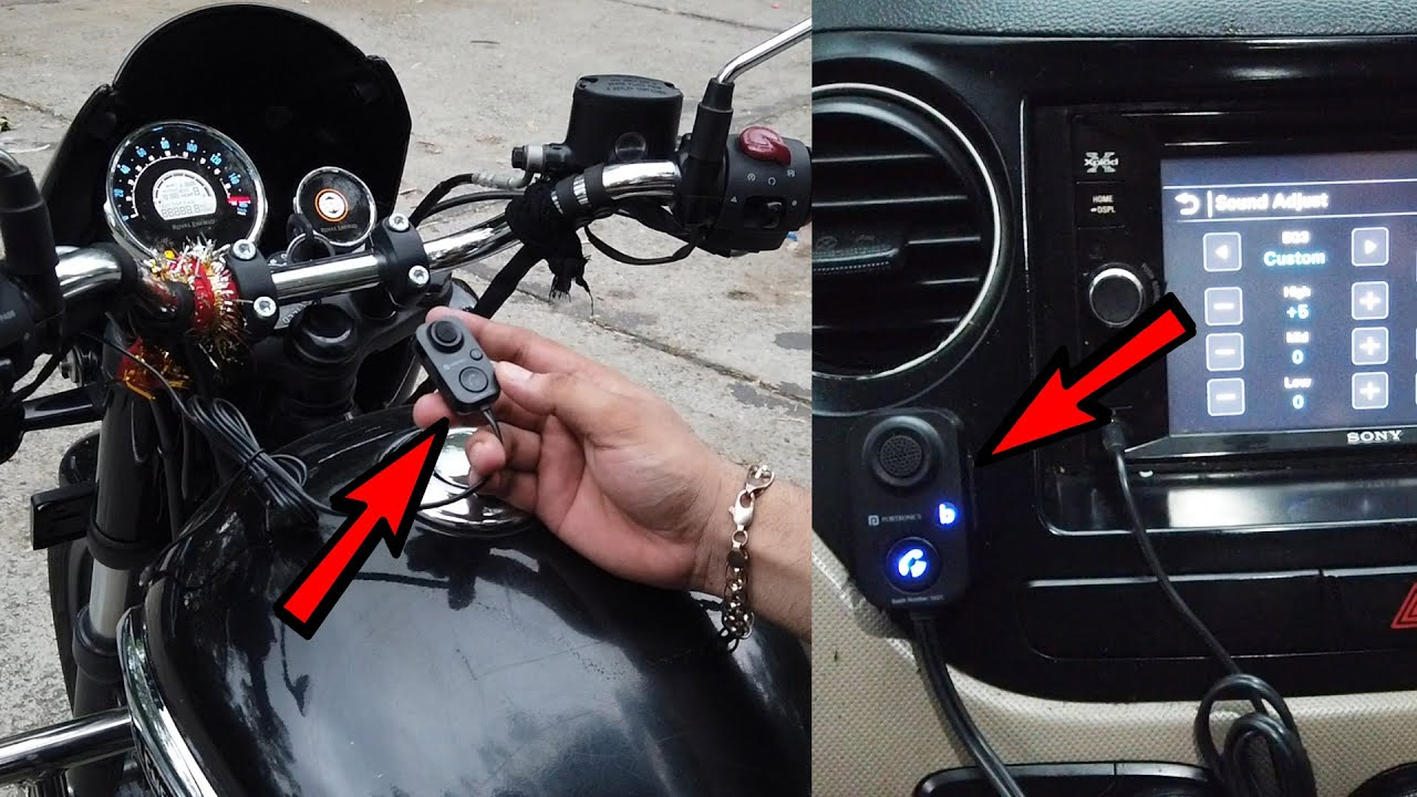 Bass Booster Receiver for Handsfree Calling Music System