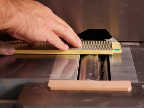 How To Sharpen Jointer Knives In Place Youtube