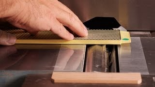 How To Sharpen Jointer Knives In-place