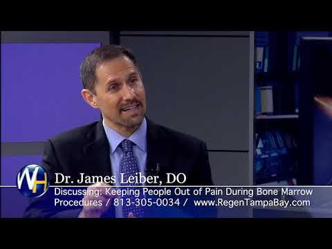 Bone Marrow Extraction with Regenexx Tampa Bay and Sarasota's James Leiber, DO