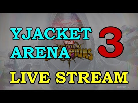 Yellowjacket Arena - Round 2 - Part 3 | Marvel Contest of Champions Live Stream thumbnail