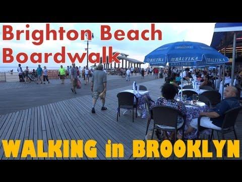 Walking in Brooklyn - Brighton Beach Boardwalk