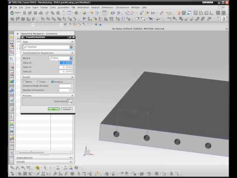 CAM Logic Tech Tuesday- Generic Motion Control applied to Gun Drilling NX CAM)