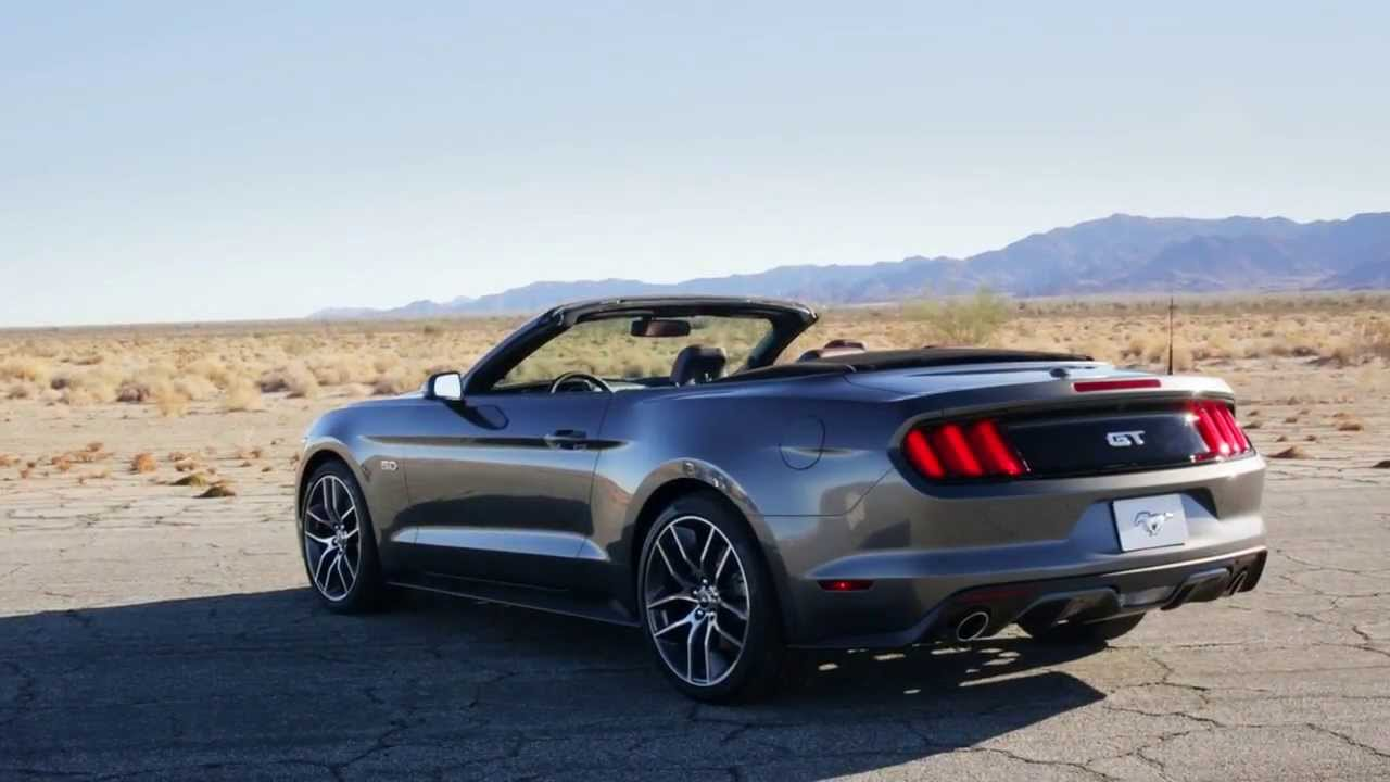 new 2015 ford mustang gt convertible footage youtube. Black Bedroom Furniture Sets. Home Design Ideas