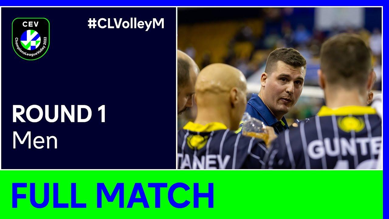 Hebar PAZARDZHIK vs. CDV Guaguas LAS PALMAS - CEV Champions League Volley 2022 Men | Round 1