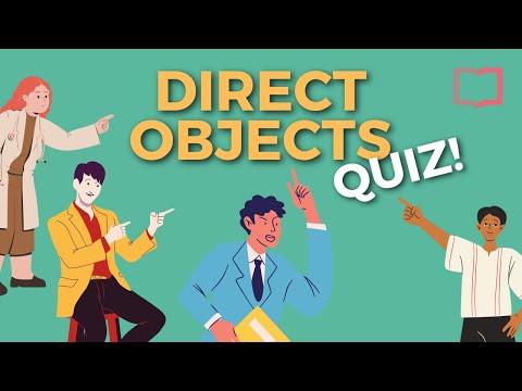 Spanish Direct Object Pronoun Quiz (Lo/La/Los/Las)