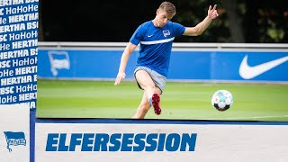 Co-Trainer Eddy Sözer haut einen raus! l Elfmetersession l Hertha BSC