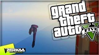 THE HIGHEST DIVE EVER | GTA 5 Funny Moments | E533 (GTA 5 PS4)