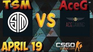 CSGO Lounge Betting Predictions - TSM vs AceG / ZefirTV Predicts