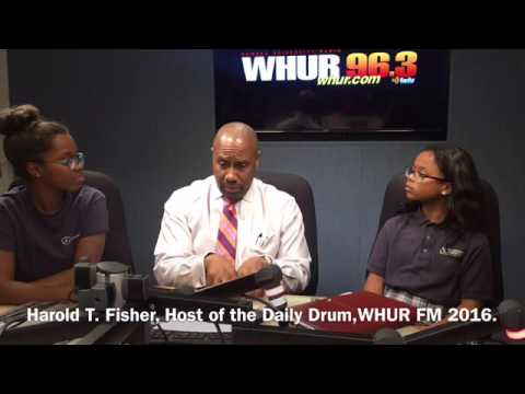 TK2L DC News, Mr. Harold T. Fisher, Broadcast Journalist, WHUR FM
