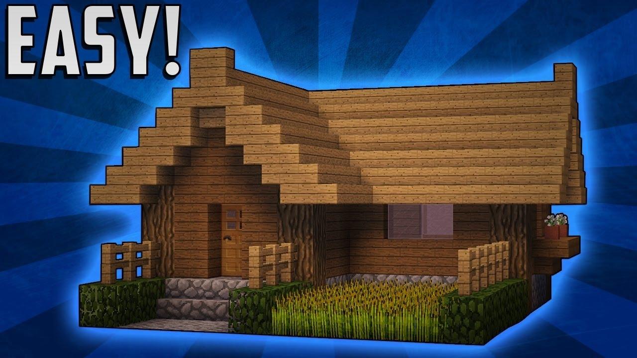 [Minecraft] Hướng dẫn xây 1 căn nhà nhỏ trong minecraft EASY