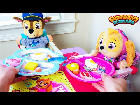 Paw Patrol's Skye and Chase's fun day at the Playground & No Bullying at School Baby Pups Videos!