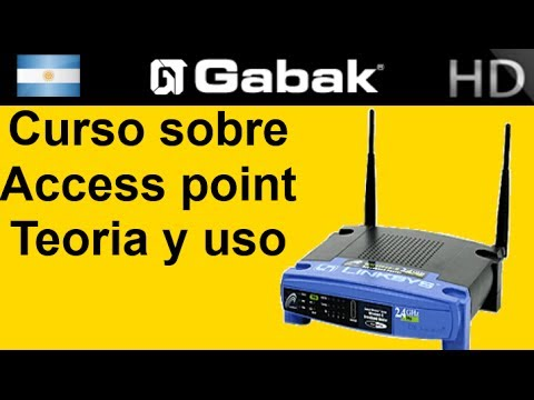 ¿Que es un access point? y como usarlo {teoria} (AP-conexiones wifi)