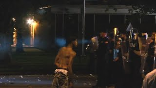Anger and chaos after police shooting in Tennessee