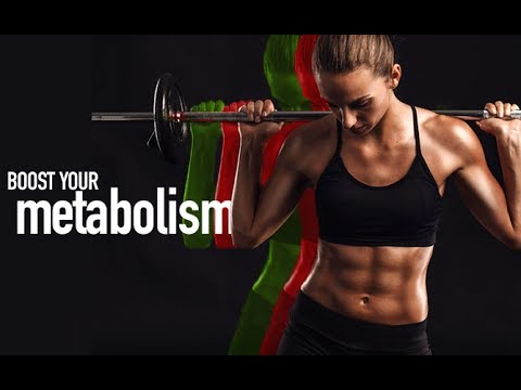How To Boost Your Metabolism (IN 10 MINUTES FLAT!!)