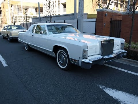 Image result for Lincoln Continental town coupe 77