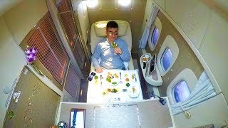 Top 10 Airlines - EMIRATES NEW 2018 FIRST CLASS - IT'S A 5* HOTEL!!!