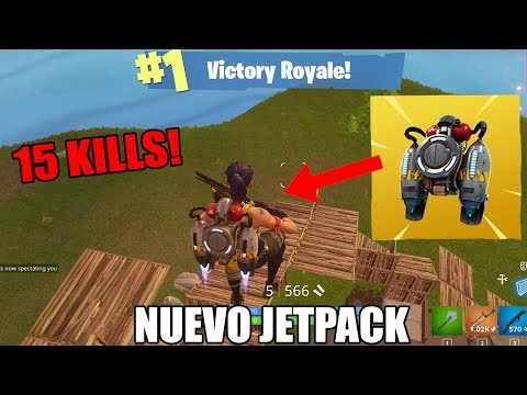 VICTORIA EPICA CON EL *NUEVO* JETPACK! - FORTNITE EPIC KILLS #10