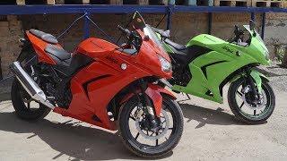 обзор двух мотоциклов Kawasaki Ninja 250R