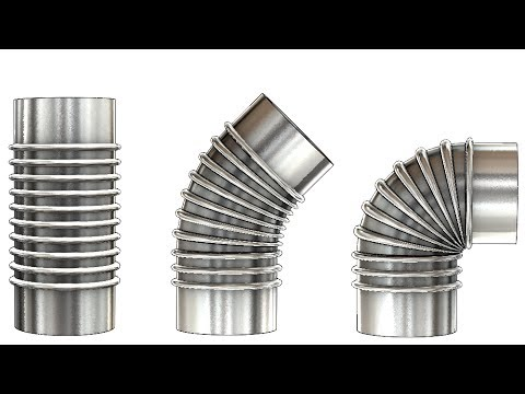 solidworks tutorial 279 realistic bendable pipe youtube. Black Bedroom Furniture Sets. Home Design Ideas