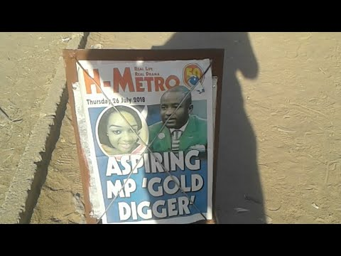 Aspiring MP Gold Digger In H Metro Today