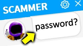 SCARIEST SCAMMER GETS EXPOSED (Roblox)