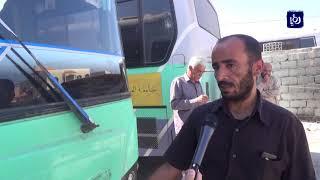 ما هي مطالب سائقي حافلات جامعة الحسين في معان ؟