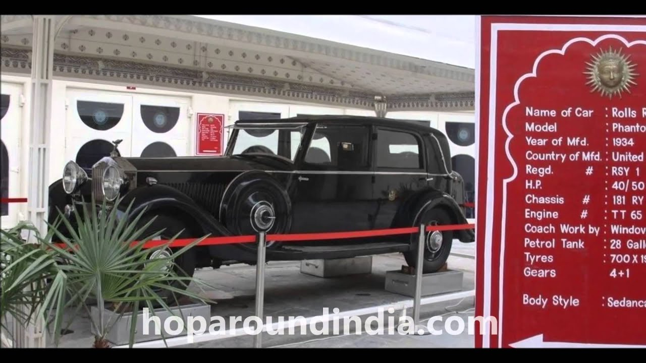 About Vintage Collection of Classic Car Museum,udaipur - YouTube