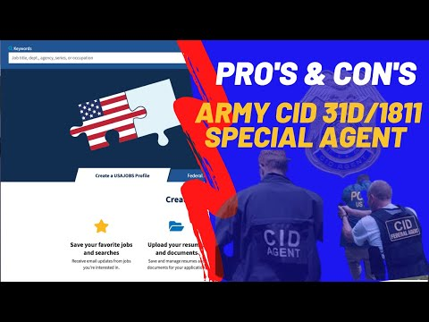 ARMY CID Civilian And Military Agents Explained