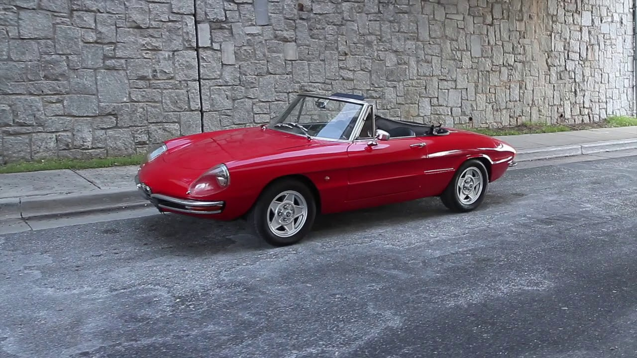 1967 alfa romeo spider duetto for sale youtube. Black Bedroom Furniture Sets. Home Design Ideas