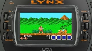Rygar: Legendary Warrior (ATARI LYNX, Flashback Gameplay)