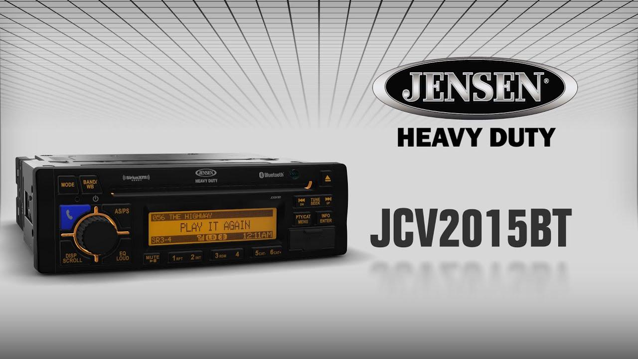 Maxresdefault jensen heavy duty jcv2015bt youtube on jensen stereo wiring diagram for jhd1130