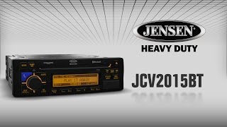 JENSEN Heavy Duty JCV2015BT