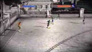 GAME FIFA Street 3 - Xbox 360 Mexico vs. Greece Gameplay