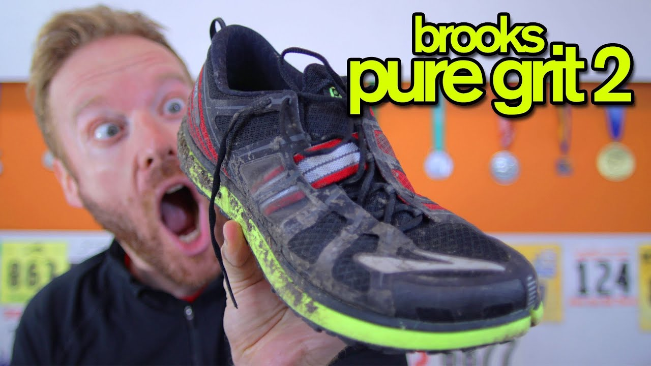 40343d19cf9 BROOKS PUREGRIT 2 REVIEW - GingerRunner.com Review - YouTube