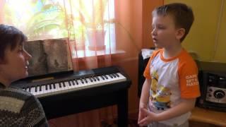 """Урок вокала Натальи Федоровой в ЦО """"Вступление"""""""