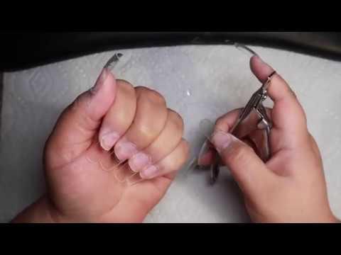 Watch me do my nails! | Acrylic nail tutorial thumbnail