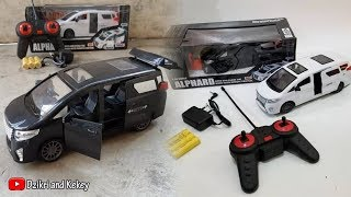 Unboxing and Review Mobil Remote Control Alphard🚍🚘